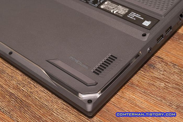 ROG Strix G17 G713QM 스피커