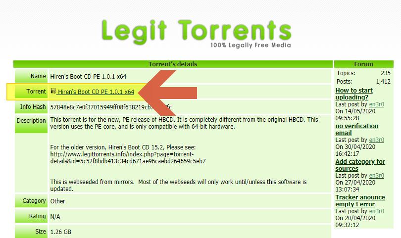 torrent 파일 다운로드
