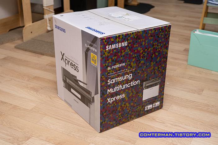삼성 SL-M2893FW 박스