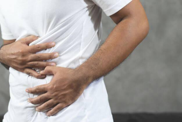 복부팽만감