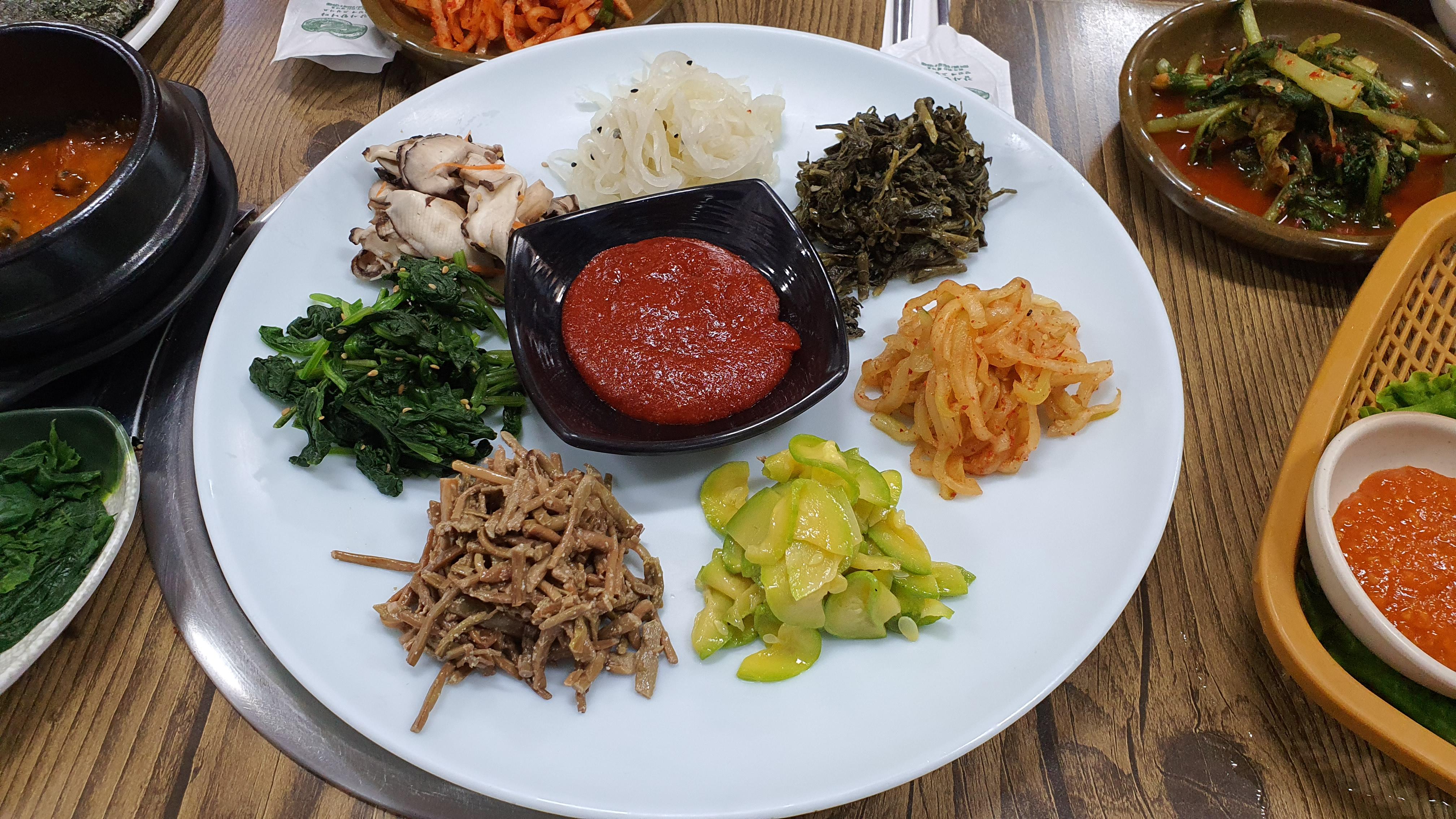 천안 소문난 보리밥