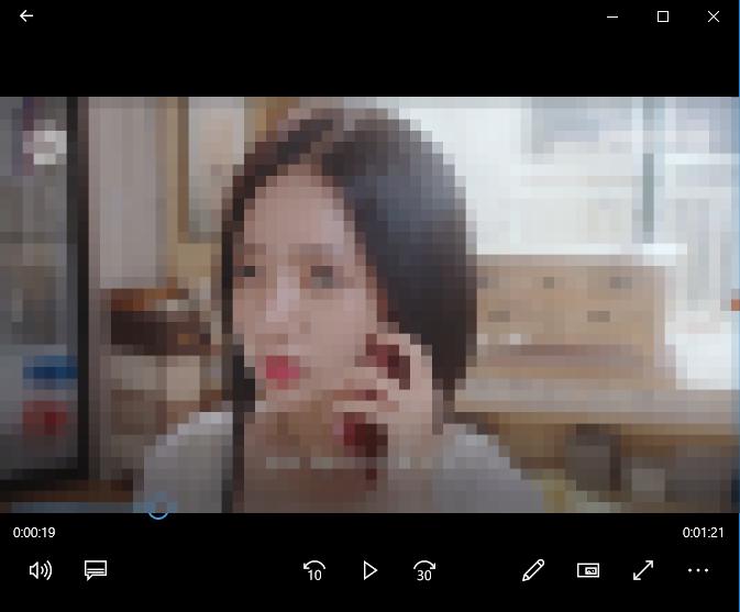 카카오TV 동영상 다운로드 결과