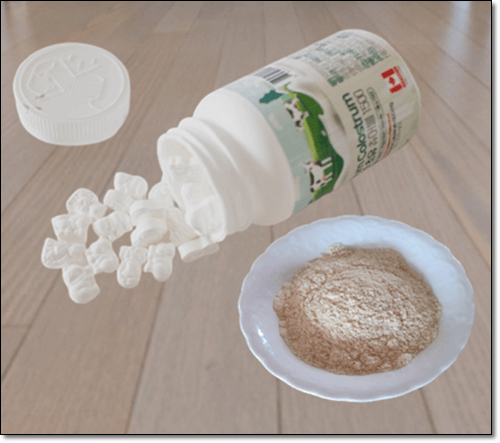 초유단백질 보충제