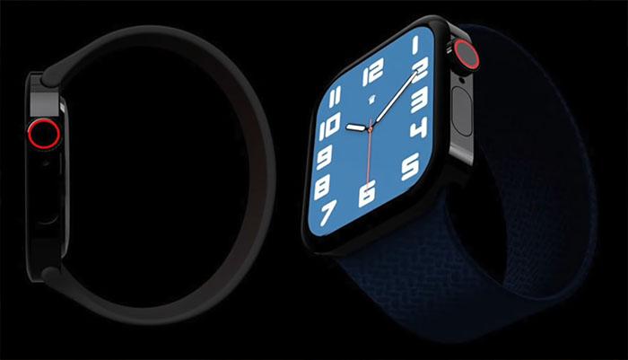 새로운 애플워치 7 디자인