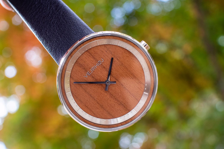 북유럽 덴마크 나무시계 베아호이(VEJRHØJ) 미니멀 디자인 시계