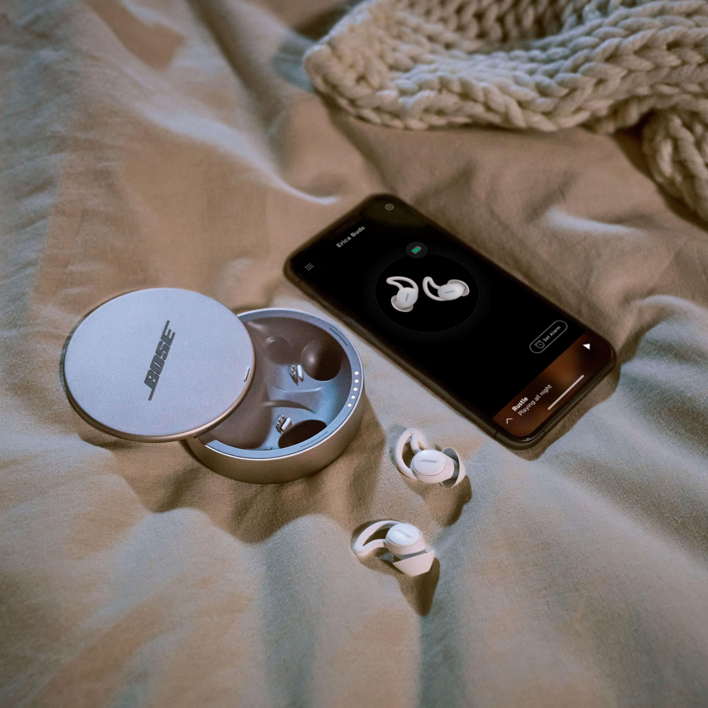 완전 무선이어폰도 슬립테크 시장 가세…보스, 수면전용 '슬립버즈 II' 발표