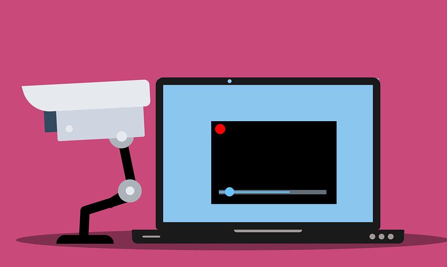 윈도우10 에서 웹캠 켜질때 알림 뜨게하는 방법