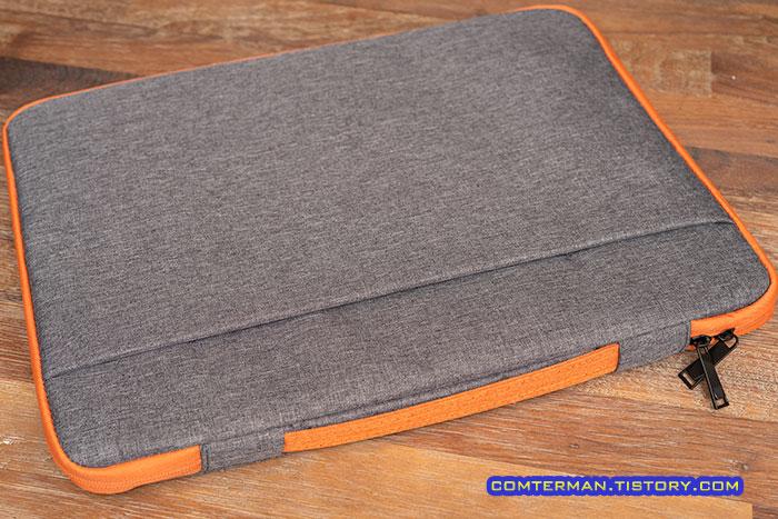 PND02 17인치 노트북 파우치 다크그레이