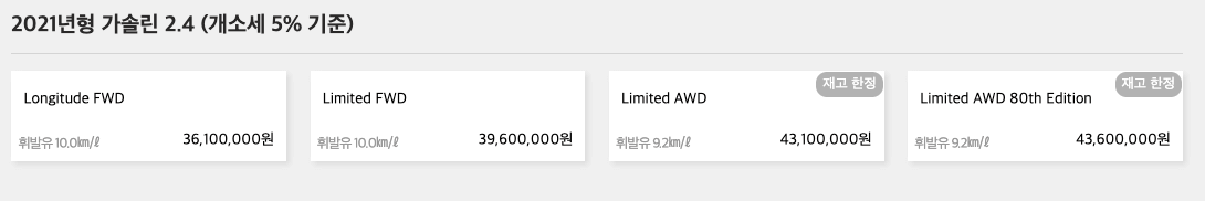 지프레니게이드_트림별_가격표