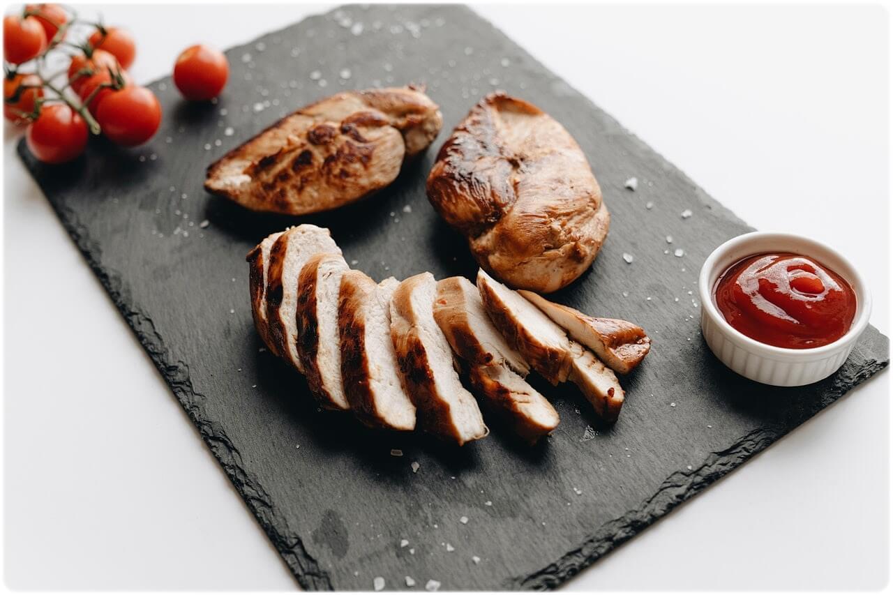 고단백질 저칼로리 음식