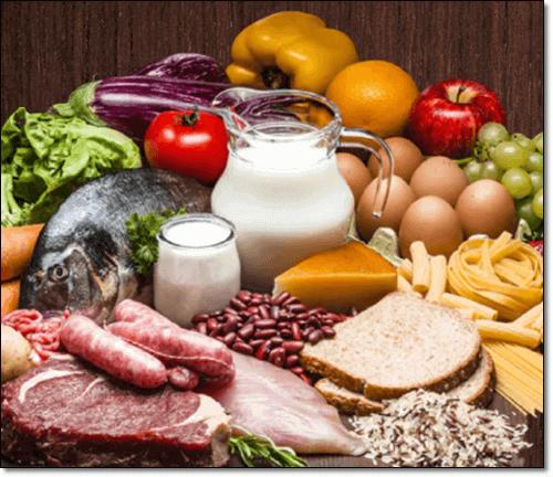 l아르기닌이 풍부한 단백질 음식