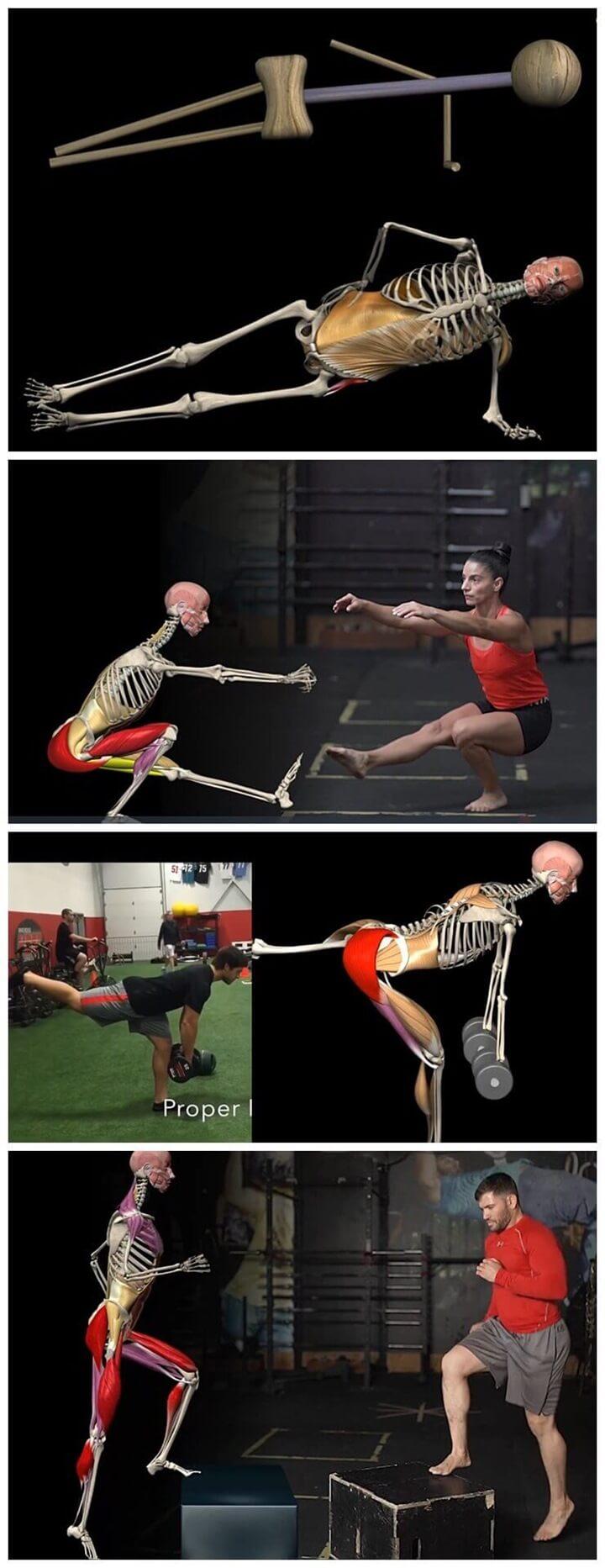 대둔근-엉덩이운동-4가지