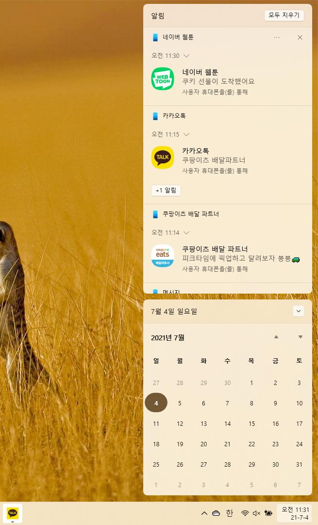 윈도우11 공식 배포판 캡처6