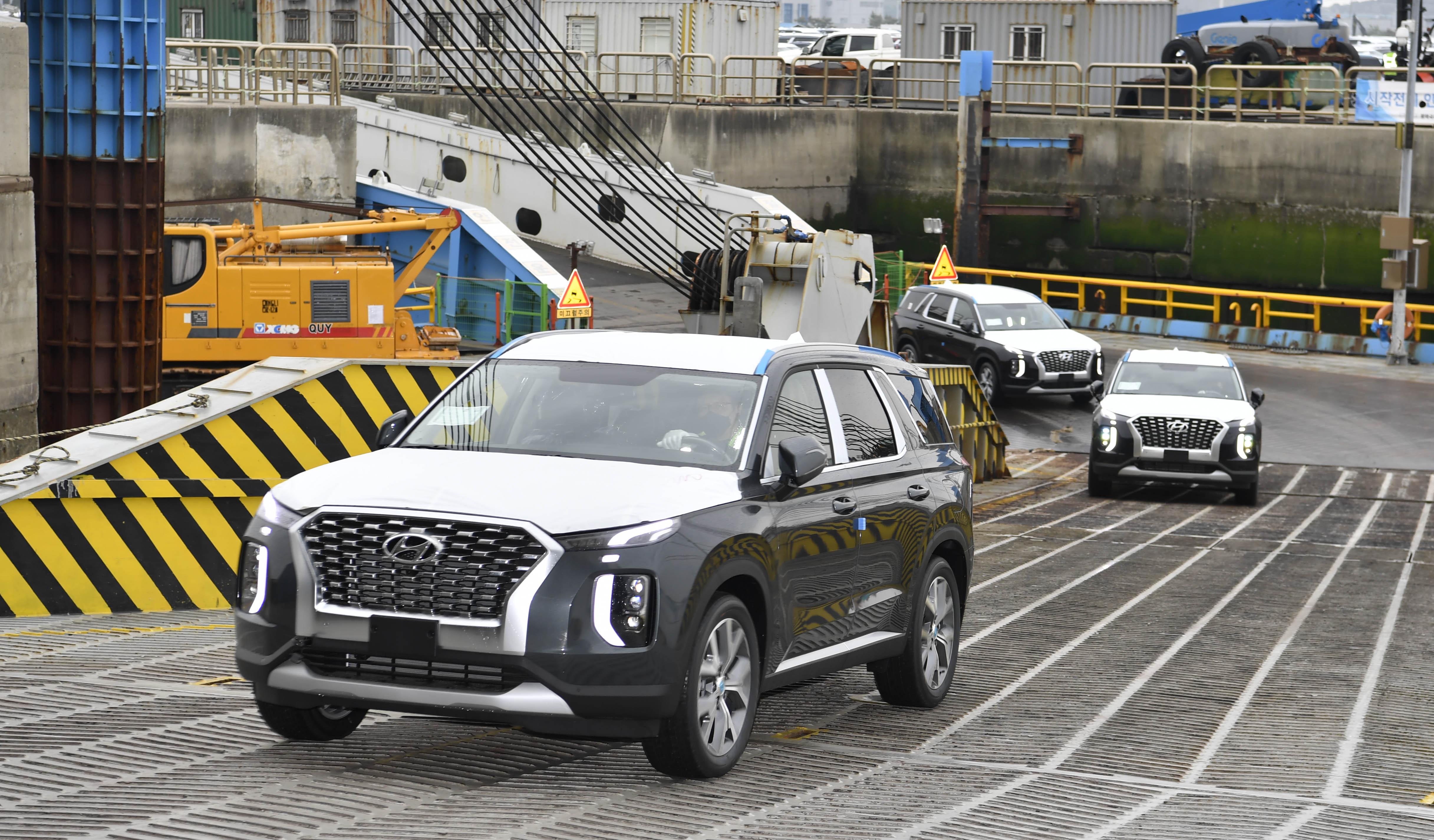 아프리카로 수출길 오른 현대 팰리세이드, 'VIP 의전차·정부 관용차'로 쓰인다