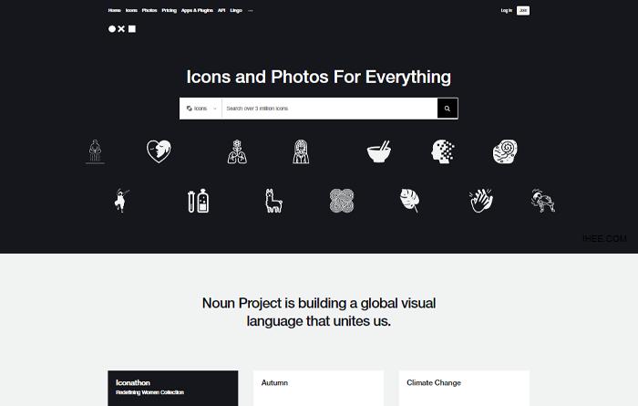 the noun project 무료 아이콘 다운로드 서비스