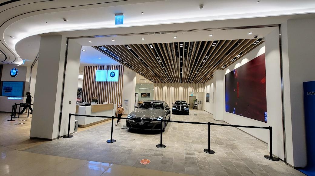 안성 스타필드 BMW 매장