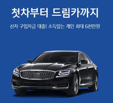 신한마이카 신차대출 리플릿 사진