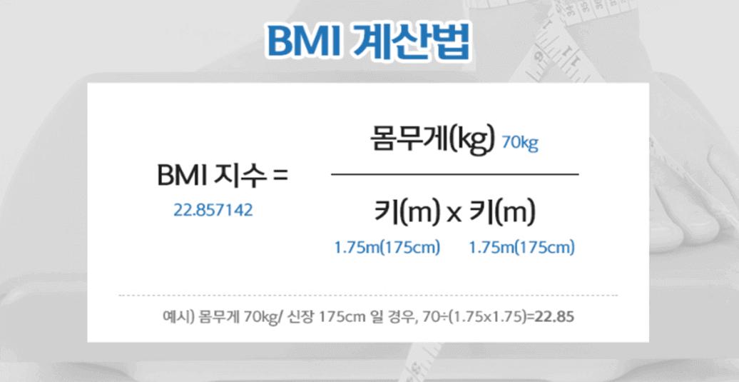 BMI 계산법