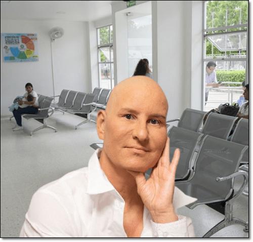 항암중인 남성