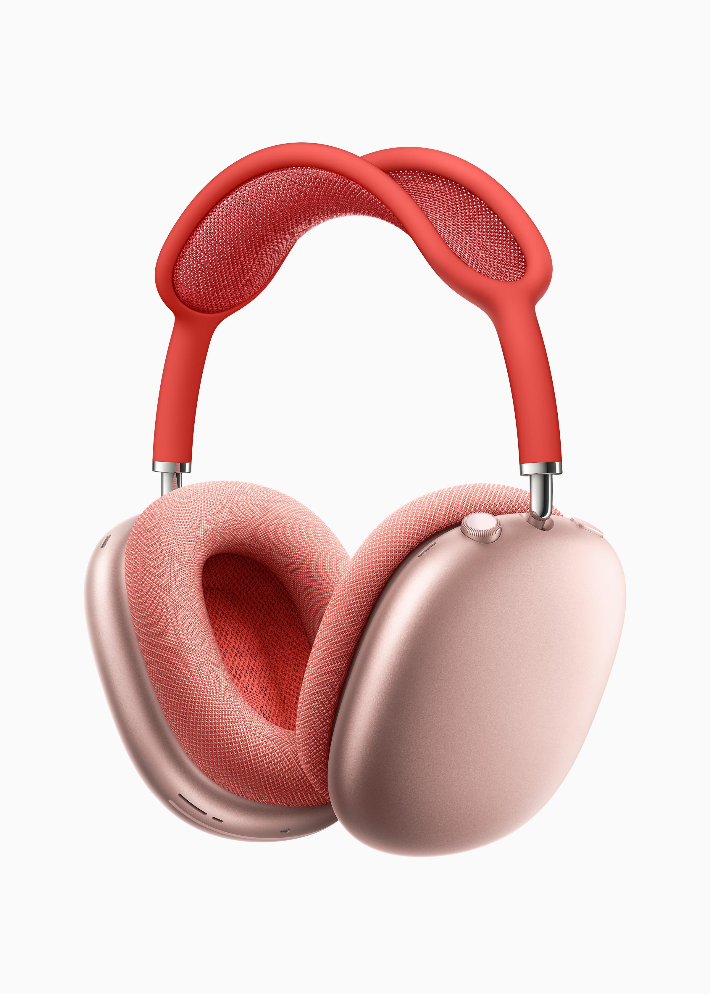 애플, 오버이어 무선헤드폰 에어팟 맥스 발표...잡음 제거, 공간 음향, 적응형 EQ 지원