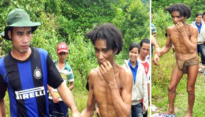 40년 정글 살다 문명 복귀 8년만에 사망한 '실사판 타잔'