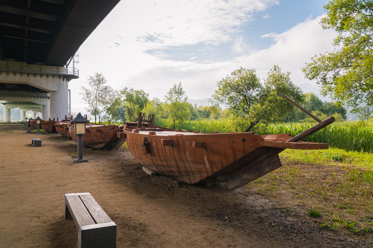 배다리에 쓰인 배