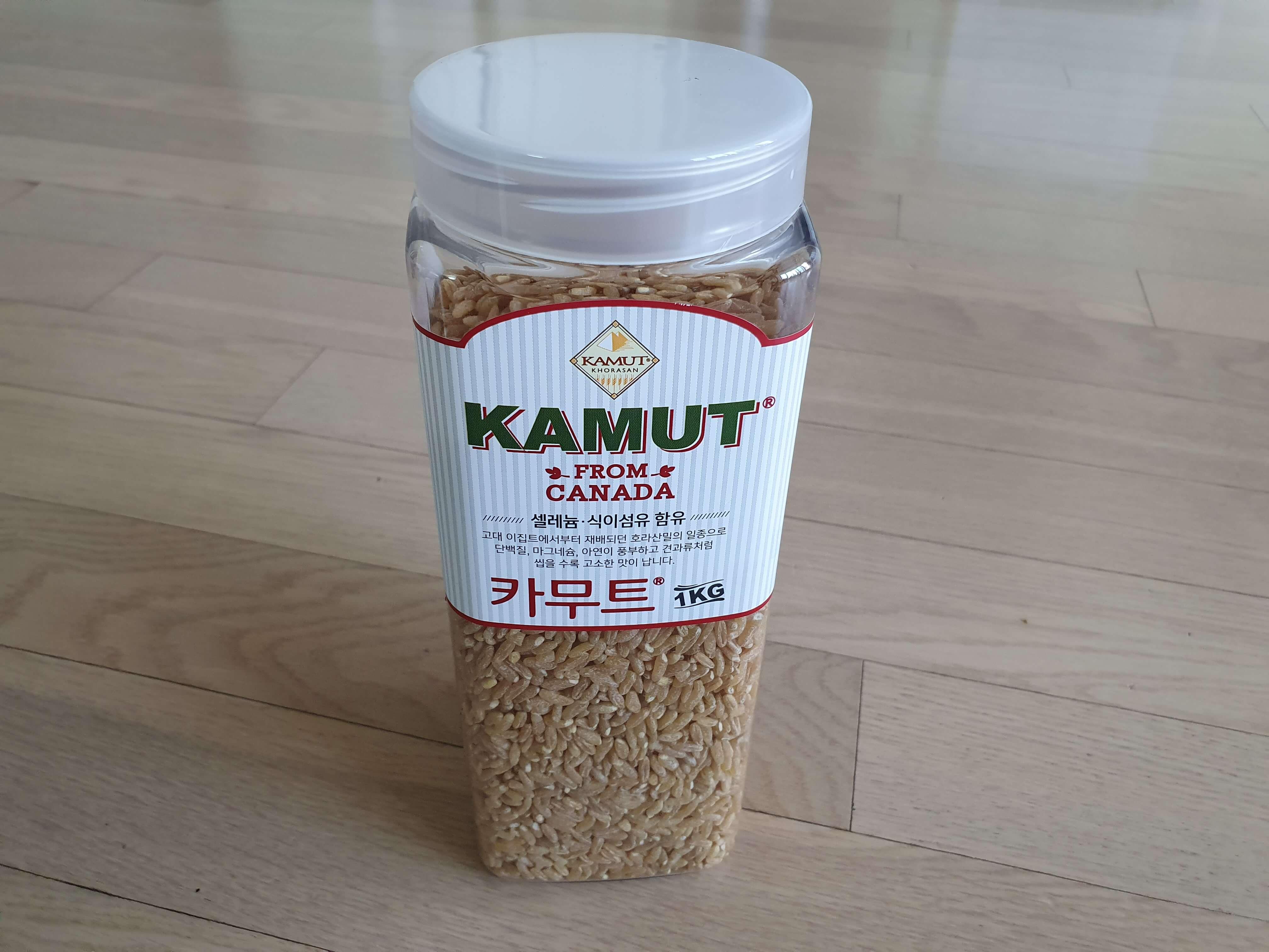 카무트-쌀-모습