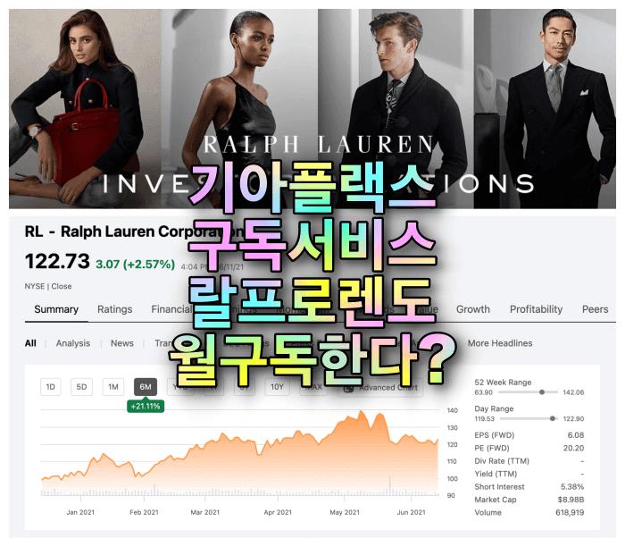 랄프로렌-기업주식추세-공식사이트