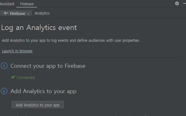 Add Analytics to your app