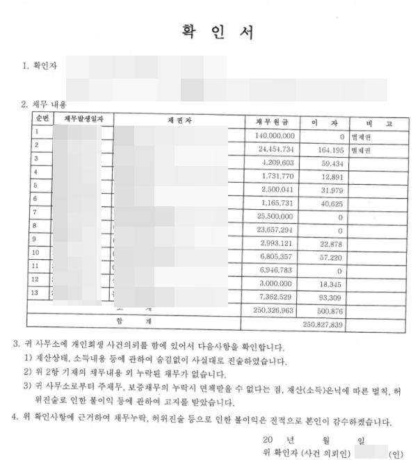 개인회생 후기 사진4