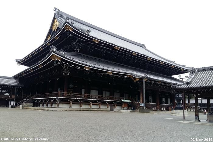 일본 교토 히가시 혼간지(東本願寺)