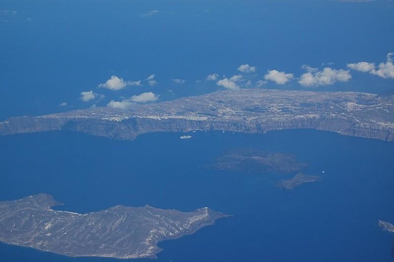 그리스 산토리니 : 허니문의 고향..