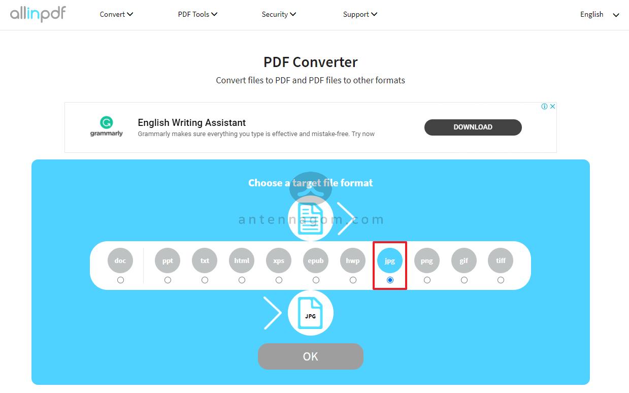 PDF JPG 변환 방법 10
