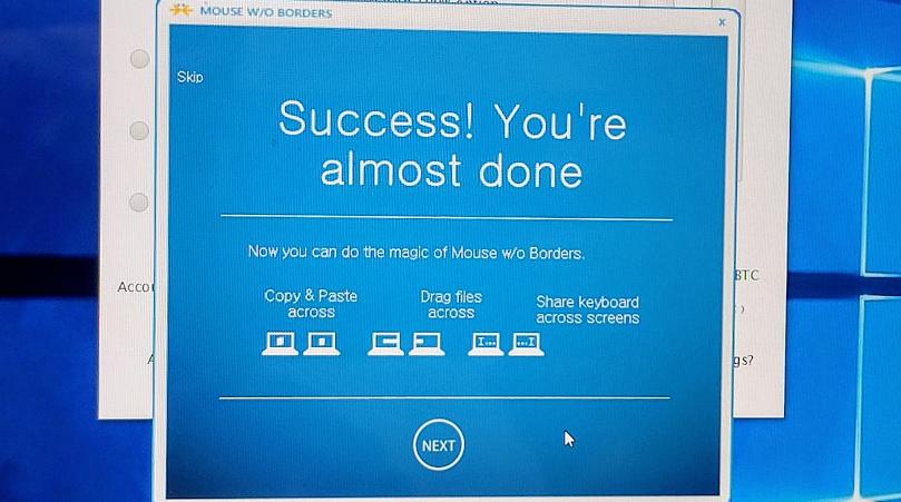윈도우10 mouse without borders 설정 방법 사진 5
