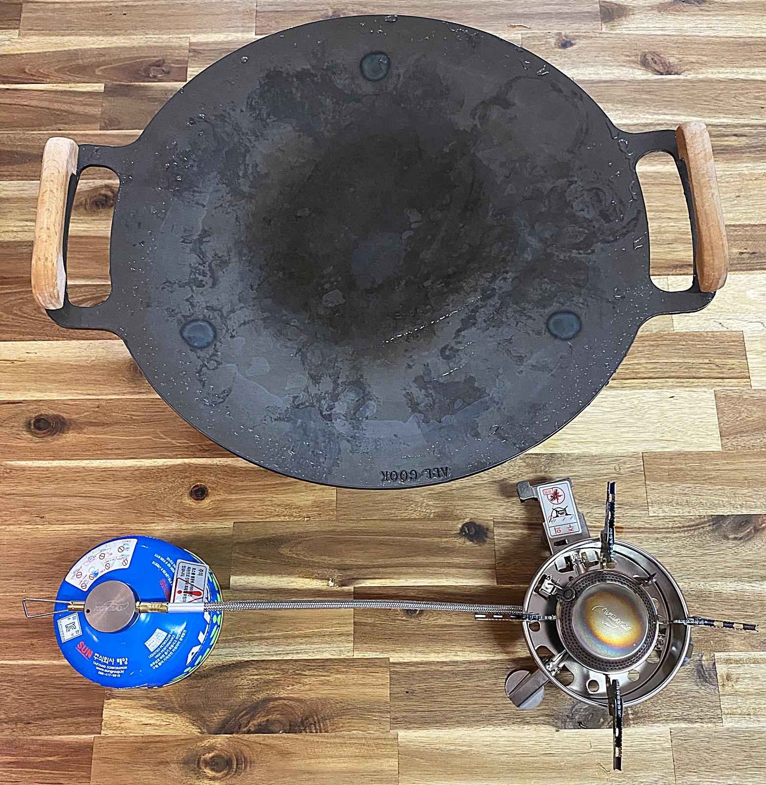 그리들 콩기름 발연점 측정 도구