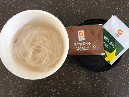 청정원베트남쌀국수후기