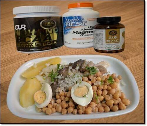 아미노산식품과 보충제