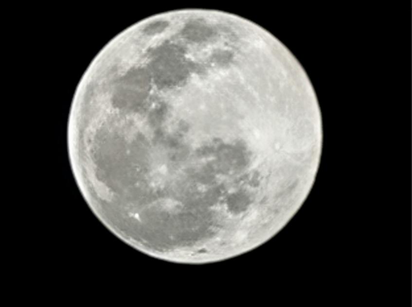갤럭시 S21 Ultra 로 찍은 달 사진
