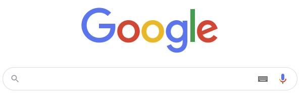 구글 검색 화면