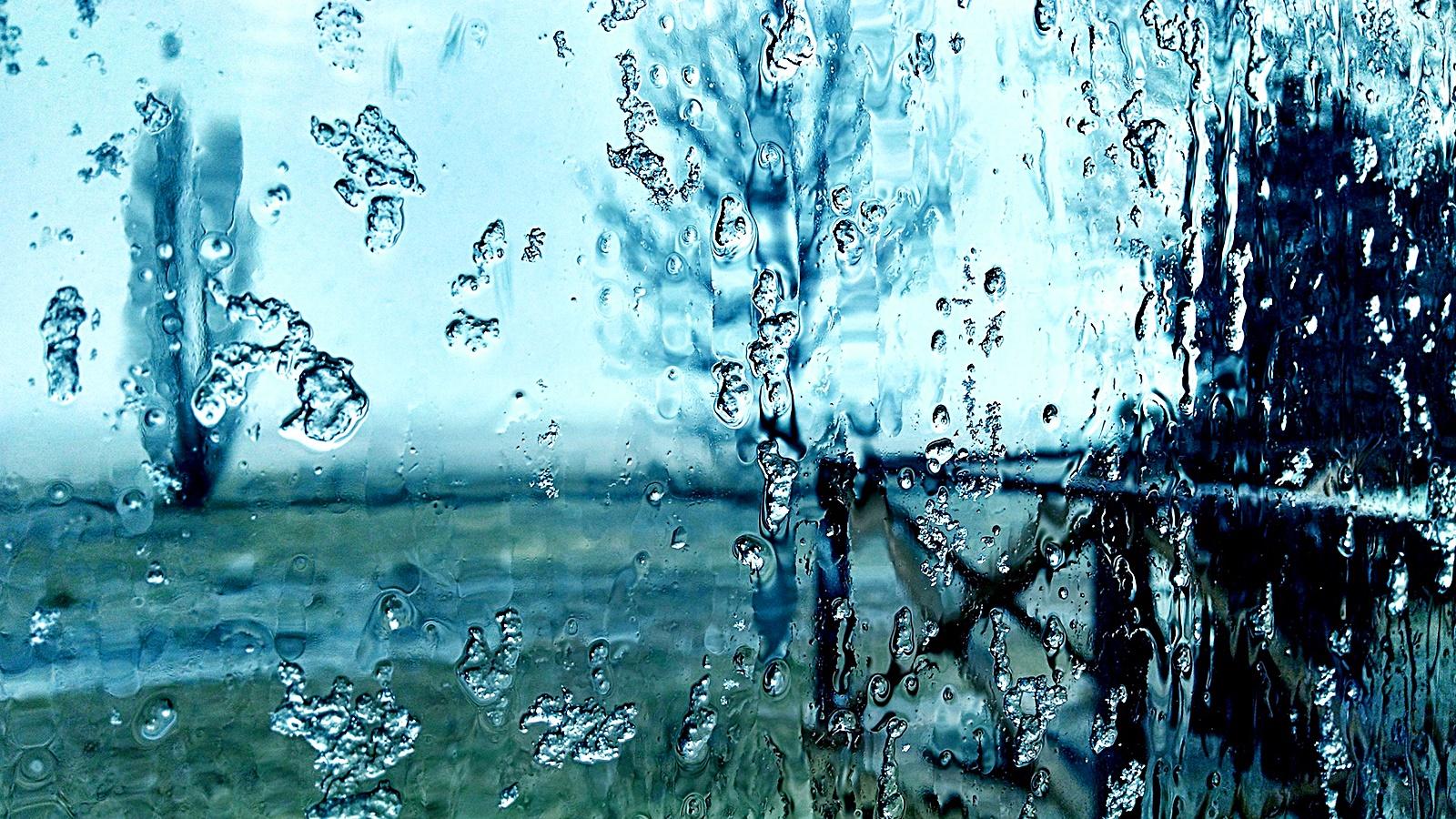 눈 녹은 비