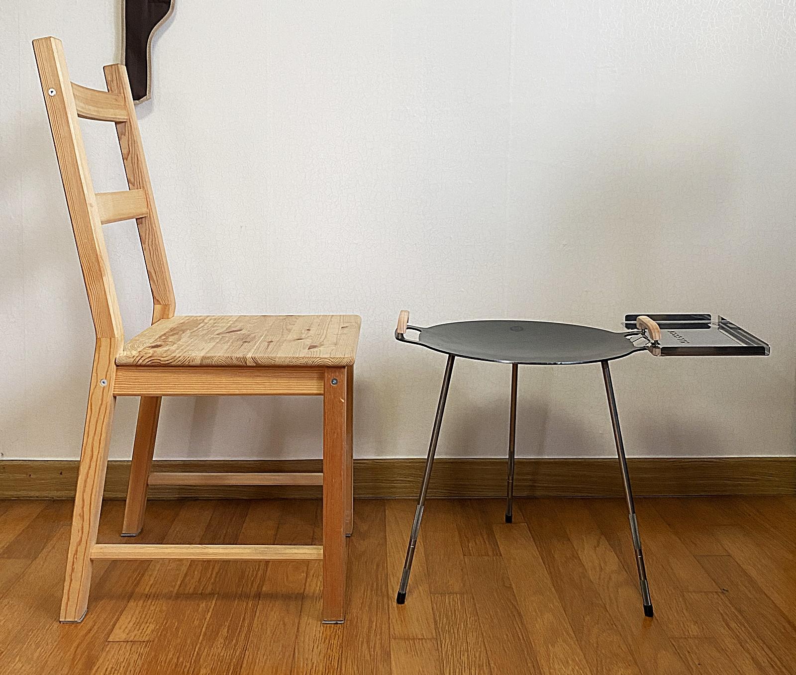 그리들 높이 의자 비교