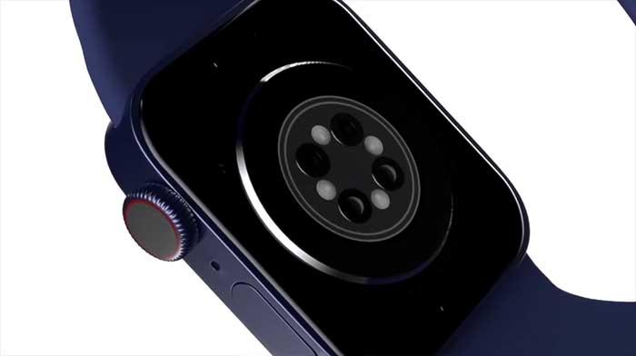 애플워치 7 후면 디자인