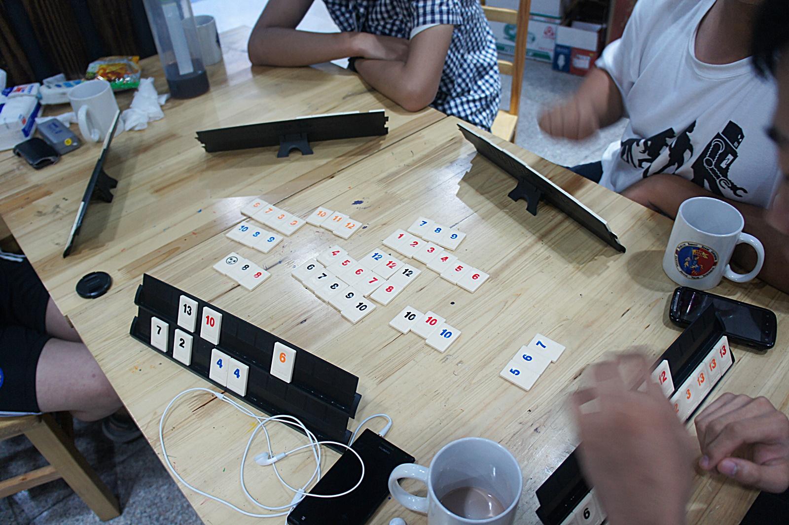 루미큐브 게임 장면 1