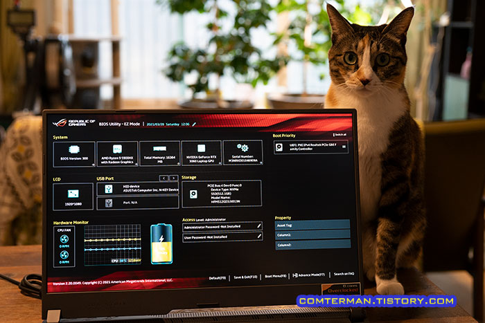 ROG Strix G17 G713QM 게이밍 노트북