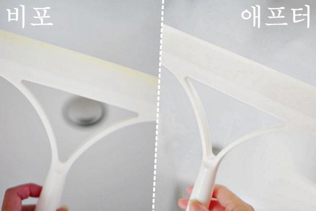 욕실 물기제거기 밀대 스크래퍼 유리닦이 변색 곰팡이 물때 제거, 남은 염색약 활용법, 생활 팁줌 매일꿀정보
