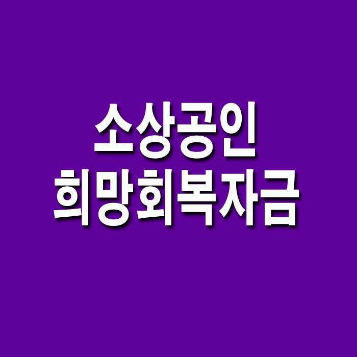 소상공인_희망회복자금