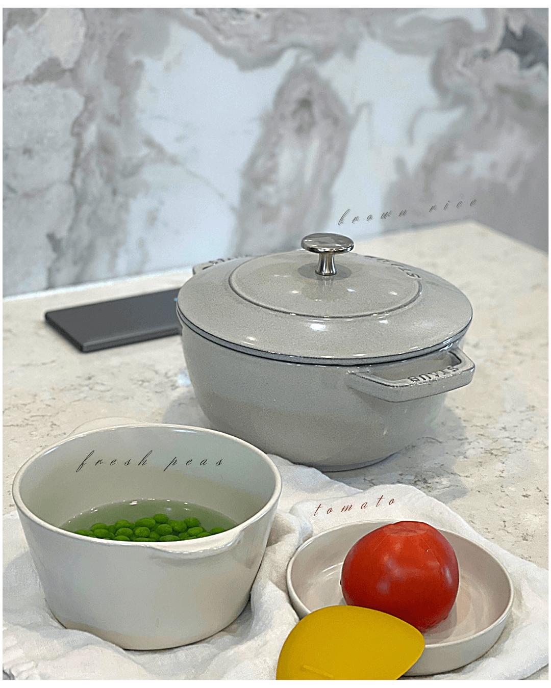 스타우브화이트트러플-스타우브솥밥-냄비밥하는법-토마토요리-냄비밥-레시피