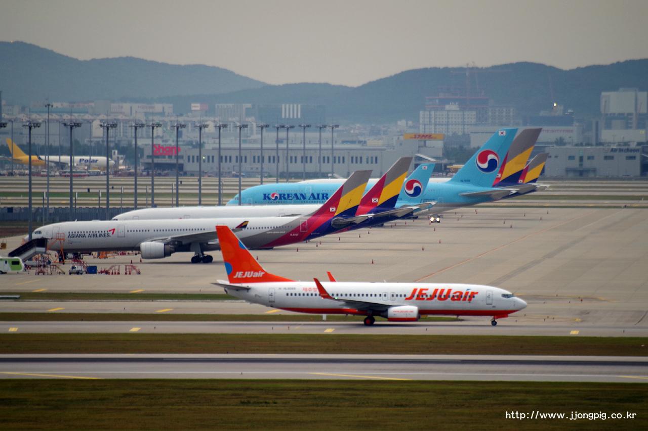제주항공 Jeju Air 7C JJA HL8089 737-800 Boeing 737-800 B738 인천공항 Incheon International 서울 Seoul-Incheon ICN RKSI