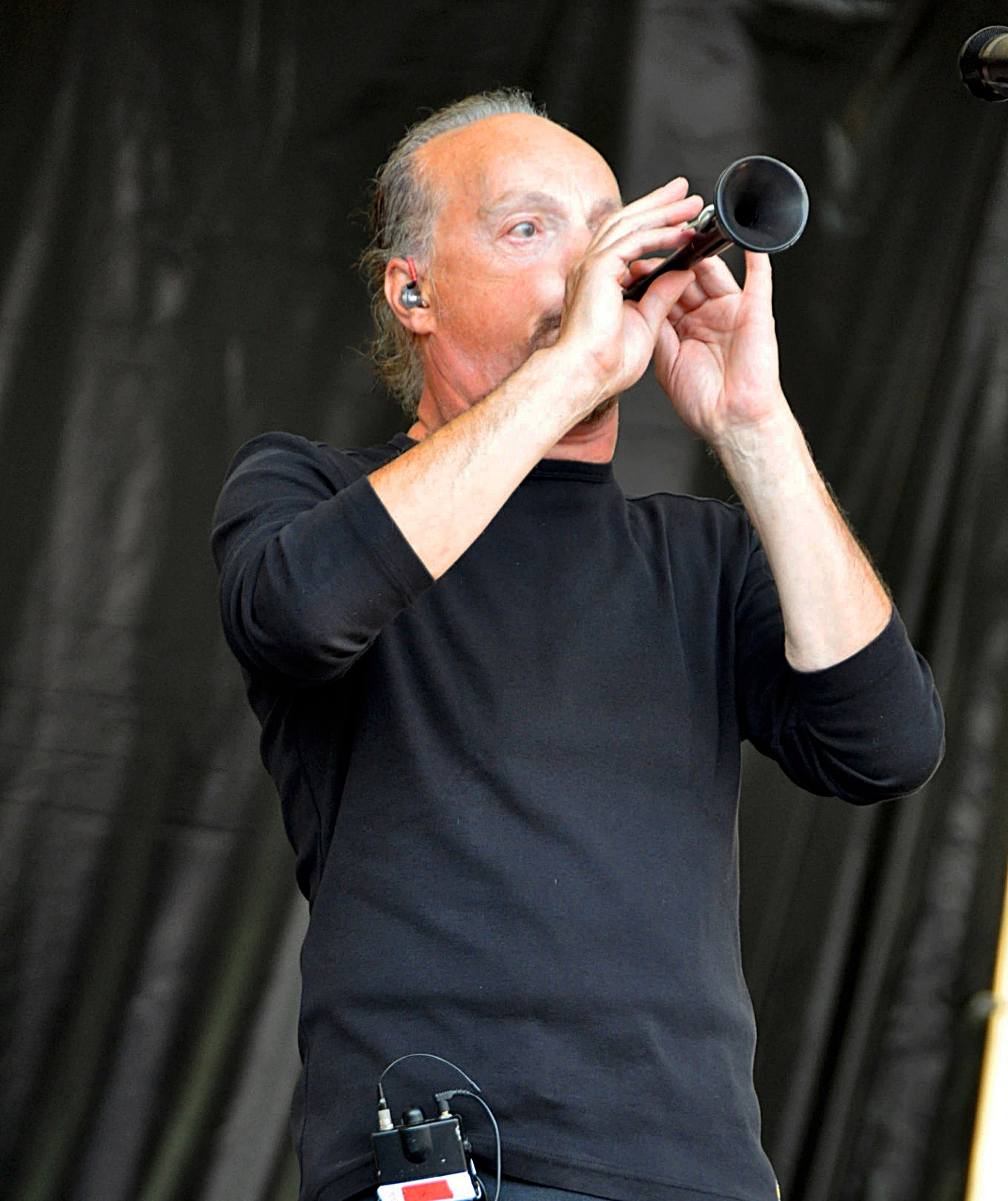Alan Stivell with Bombarde