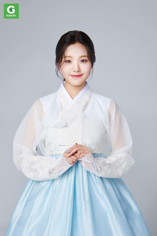 장원영 한복 컷 이미지 공개